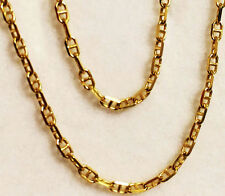 "18k yellow gold(2mm)Anchor chain(up to 32""inch)"