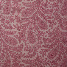 Quilt Fabric Cotton Calico Light Pink Paisley by Fabric Traditions: FQ 17x22