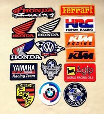 Racing Motocross Motorcyle Embroidered Iron On Patch Badge New L#1