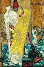 """DIEGO RIVERA Painting Poster or Canvas Print """"Cubist Composition"""""""