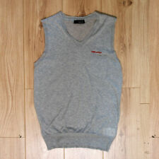 New Mens Dsquared Grey Sleeveless Knit Vest Top Size XXL BNWT RRP £175