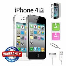 Apple iPhone 4S 8GB 16GB 32GB 64GB Sim Free Unlocked Mobile Smartphone UK