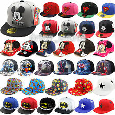 Kids Baseball Cap Superhero Cartoon Mickey Children Adjustable Snapback Sun Hats