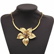 Fashionable Vintage Gold/silver Color Plated Choker Necklace for Women