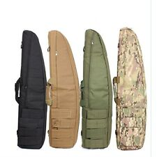 Tactical Gun Bag Soft Paddle Case Rifle Storage Hunting Bag with Magazine Pouch