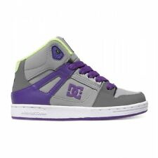 DC SHOES TODDLERS REBOUND UL PURPLE FW 2017 BABY SHOES NEW 23 24
