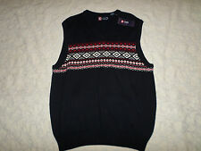 CHAPS SLEEVELESS VEST SWEATER MENS SIZE XXL NAVY COLOR NEW WITH TAGS
