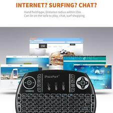 Black iPazzPort 2.4GHz Wireless Mini Keyboard w/Touchpad Mouse Handheld RC Hot
