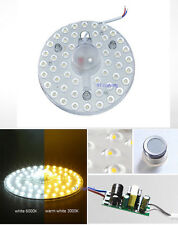 NEW Ceiling Light magnet absorb dome Bulb White / Warm 24W SMD LED Replace Lamp
