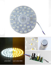 NEW Ceiling Light magnet absorb dome Bulb White / Warm 18w SMD LED Replace Lamp