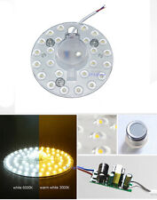 NEW Ceiling Light magnet absorb dome Bulb White / Warm 12w SMD LED Replace Lamp