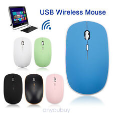 2.4GHz Wireless Cordless Optical Mouse Mice +USB Receiver PC Laptop Multitype
