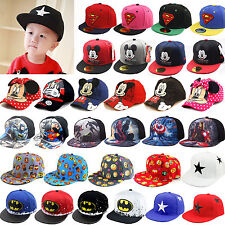 Boys Girls Adjustable Baseball Cap Kids Snapback Children Sun Hat Hip-hop Sports