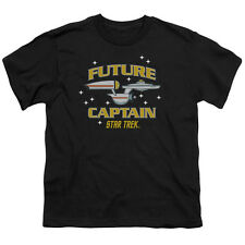 Star Trek Enterprise FUTURE CAPTAIN Licensed  Youth T-Shirt S-XL