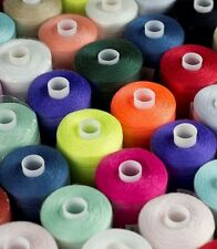 COTTON THREAD POLYESTER, MIXED PACK ASSORTED COL- PACK OF 10/25/50/100+