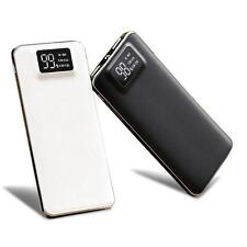 12000/20000mAh LCD Display USB External Battery Power Bank For Mobile Phone mzus