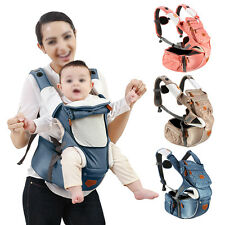 Hipseat Baby Toddler Shoulder Carrier Lumbar Support Wrap Sling Backpack Comfort