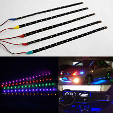 15 LED 30cm 3528 Car Motor Auto Flexible Grill Light Lamp Strip 12V Waterproof