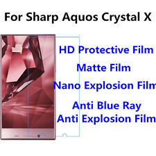 3pcsFor Sharp Aquos Crystal X Protect Eye Anti Blue Ray,Good Touch Matte Film