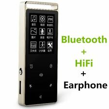 Original Touch Screen 8GB Bluetooth MP3 Player Pedo Meter HIFI Metal High Sound