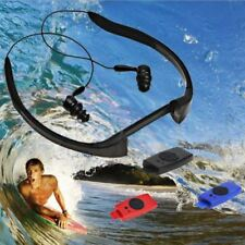 8GB Waterproof MP3 IPX8 Music Player Underwater Sports Neckband Swimming Diving