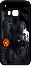 New Halloween pumpkin Haunted House Phone Case for HTC one m9 m8 LG G4 Moto G X