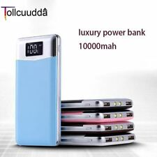 Tollcuudda New 10000mAh Portable Battery Phone Power Bank USB Charger Li-Polymer