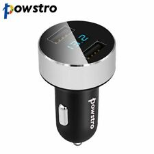 5V/3.1A Universal Car USB Charger Dual USB Port Adapter Charger LED Display Volt