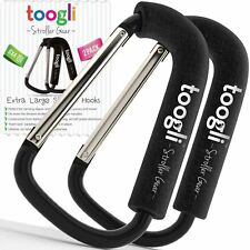 X-Large Stroller Hook Set for Mommy By Toogli. Two Great Organizer Accessories