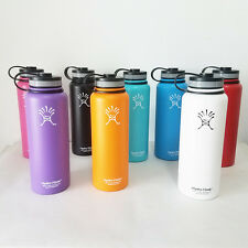 New 18oz Hydro Flask Insulated Stainless Steel Water Bottle Wide Mouth