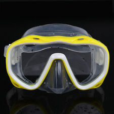 SILICONE SEAL SNORKEL SCUBA TEMPERED GLASS LENS MASK DIVING EQUIPMENT Goodish