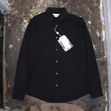 NEW Maison Martin Margiela Smart Black Shirt With Dual Button Cuff BNWT RRP £135