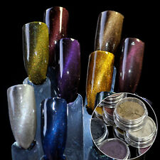 Cat Eye Effect Nail Art Magnet Glitter Powder UV Gel Polish Glitter Pigment