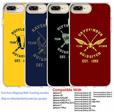 Harry Potter Quidditch Team Captain House Silicone Phone Case Fr iphone Samsung