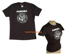 Authentic Ramones SEAL Logo Baby Doll t-shirt Classic 100% Cotton Soft Jersey