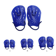 1 Pair Swimming Gloves Hand Webbed Finger Training Paddle Palm Gloves Goodish