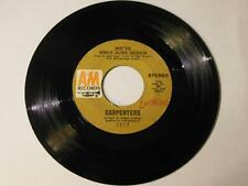 """Carpenters - We've Only Just Begun / All Of My Life Vinyl 7"""" 45 - A&M Records -"""