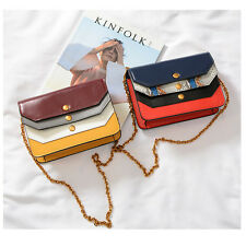 Women Chain Flap Bag Handbag Genuine Leather Shoulder Crossbody Bag Ladies Purse