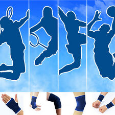 1Pair Elastic Sport Brace Wrist Gloves Elbow Knee Ankle Support Protection Band