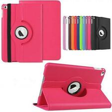 Leather 360 Rotating Smart Stand Case Luxury Cover For APPLE Air1 (iPad 5)