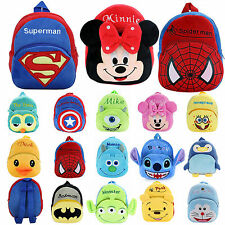 Baby Kids Boys Girls Cartoon Plush Backpack Shoulder Schoolbag Rucksack Bag Gift