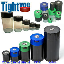 TIGHTVAC VACUUM STASH SPICE FOOD HERB CONTAINER SMELL PROOF BOX HERMETIC