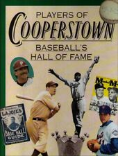Players of Cooperstown: Baseballs Hall Of Fame Hardcover Book