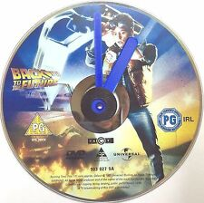 Back to the Future Michael J Fox Lea Thompson Christopher Lloyd DVD Clock New