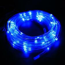 7M 50 Solar LED Rope Light Multi-color Christmas Party Outdoor Decor B77K