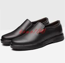 Hot Mens Chef Cook Kitchen Safety Work Oil Water-proof Shoes antiskid slip on