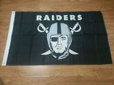 NFL Oakland Raiders flag banner 3x5ft w/Grommets polyester FREE SHIPPING