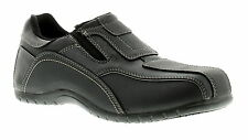 New Mens/Gents Black Slip Ons Casual Shoes