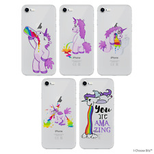 Unicorn Case/Cover Apple iPhone Samsung Galaxy / Screen Protector / Silicone Gel
