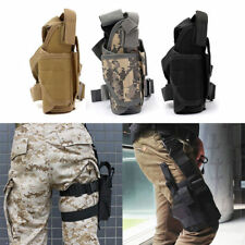 Tactical Pistol Gun Drop Bag Puttee Leg Thigh Holster Pouch Holder Adjustable